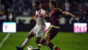 Rolf Felrscher espera su oportunidad en la Copa América