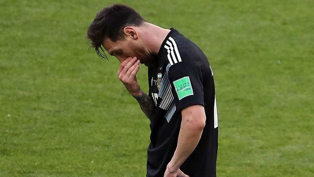 Rusia 2018 | Messi tuvo el gol de la victoria... pero falló