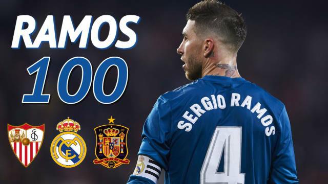 Sergio Ramos se pone a 100 y el Sevilla, su víctima favorita