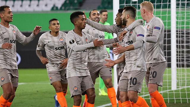 El Shakhtar toma ventaja ante el Wolfsburgo en el Volkswagen-Arena