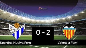 El Sporting Huelva cae frente al Valencia Femenino (0-2)