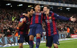 Suárez, Neymar y Messi suman siete goles en tres partidos, más que la BBC en cuatro