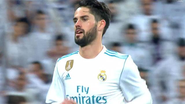 El surrealista cambio de Isco cuando el Madrid necesitaba remontar
