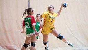 Triplete de Catalunya en el estatal de balonmano