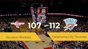Triunfo de Oklahoma City Thunder en el Toyota Center ante Houston Rockets por 107-112