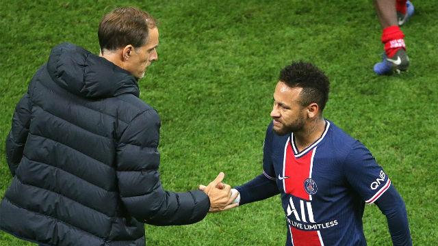 Tuchel asegura que Neymar estuvo demasiado defensivo