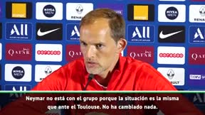 Tuchel: No ha cambiado nada con Neymar