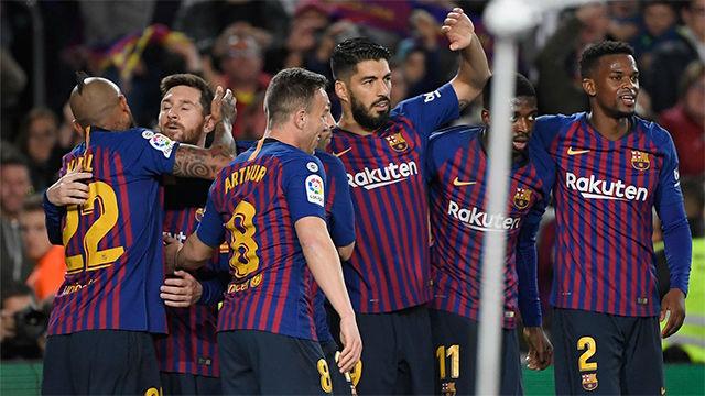 El uno por uno del Barça ante el Levante