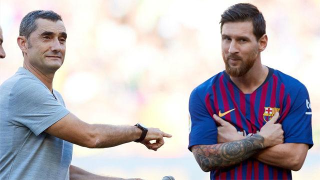 Valverde, sobre Messi: Estamos viviendo una época irrepetible por ver a un jugador como él