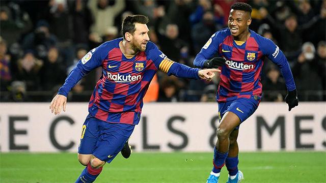 Venga el entrenador que venga, siempre Messi, así narraron las radios el gol de Leo al Granada