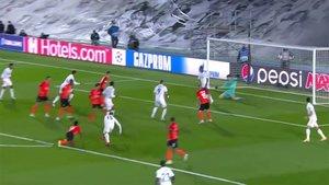 Vinicius, en fuera de juego, evitó el empate del Real Madrid