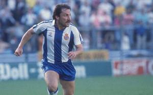 Wuttke en su etapa en el RCD Espanyol