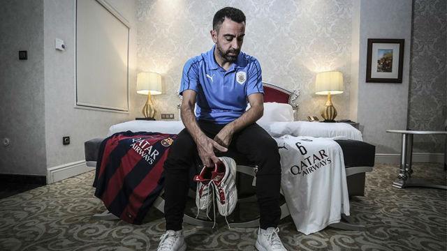 Xavi aclaró cuáles son sus intenciones respecto a entrenar al FC Barcelona