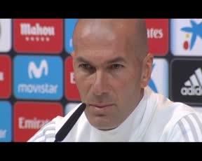 Zidane: Le he dicho a Ceballos que lo sentía mucho