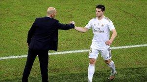 Zidane no puede contar, de momento con Jovic, sospechoso de tener el coronavirus