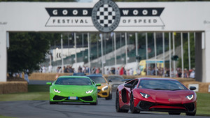 El Goodwood Festival of Speed acoge a algunos de los bólidos más impresionantes del mundo.