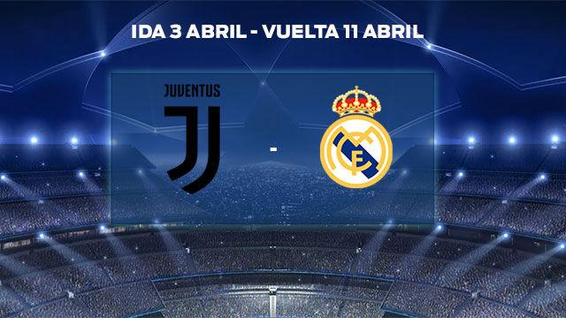 Real Madrid - Juventus, en cuartos de la Champions League 2017 / 2018