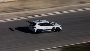 Cupra e-Racer en los test de Castellolí