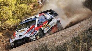 Tanak, en acción en una de las pistas de Tarragona