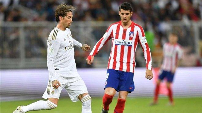 Ramos vuelve al grupo; Bale no pisa el césped