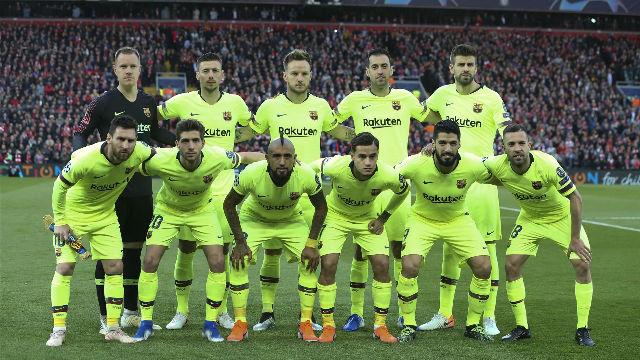 El 1x1 del Barça en el descanso ante el Liverpool