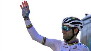 Alejandro Valverde (Movistar), campeón mundial en ruta