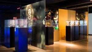 El área del Museu del Barça dedicada a Leo Messi