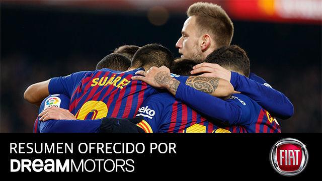 Así fue el sufrido triunfo del Barça ante el Leganés