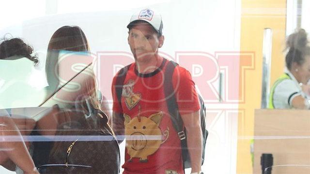 Así ha sido la llegada de Messi a Barcelona