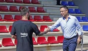El Barcelona confía en que Messi firme pronto su contrato