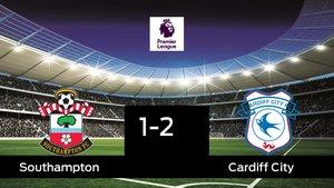 El Cardiff City gana en el St. Marys Stadium al Southampton