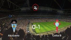 El Celta B gana 0-1 al Alcoyano y consigue la permanencia en Segunda B