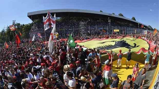 El circuito de Monza del GP de Italia de F1 (ES)
