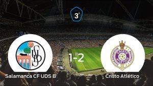 El Cristo Atlético vence 1-2 en el feudo del Salamanca CF UDS B