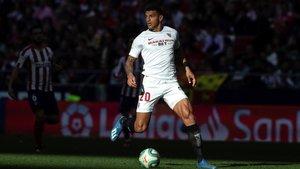 Diego Carlos está firmando una buena temporada en Sevilla