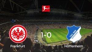El Eintracht Frankfurt vence en casa al Hoffenheim por 1-0