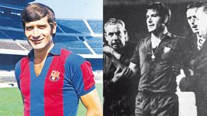 Eladio Silvestre, futbolista del Barça en la década de los sesenta