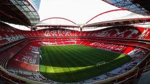El Estadio Da Luz, lugar que albergará la final de la Champions