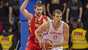 Fran Vázquez anotó 15 puntos siendo el capitán y uno de los pilares de España