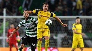Götze apenas tiene minutos en el Dortmund