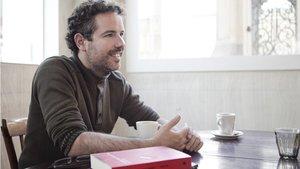 Guillermo Ortiz presenta el libro El chico que soñaba con ser Gianni Bugno