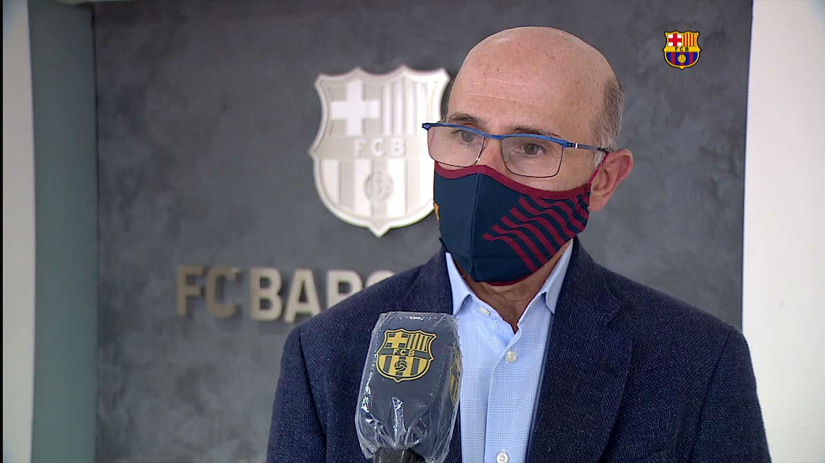 Joan Bladé remarcó que el Camp Nou es seguro