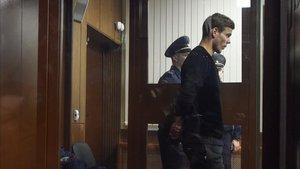 Kokorin, detenido como supuesto agresor de un funcionario