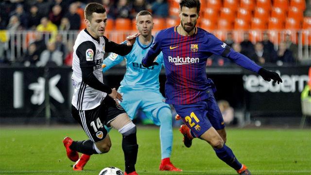 LACOPA | Valencia - FC Barcelona (0-2): André Gomes protagonizó un grave error en la salida de balón