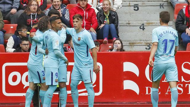 LALIGA 123 | Sporting de Gijón - FC Barcelona B (2-3)