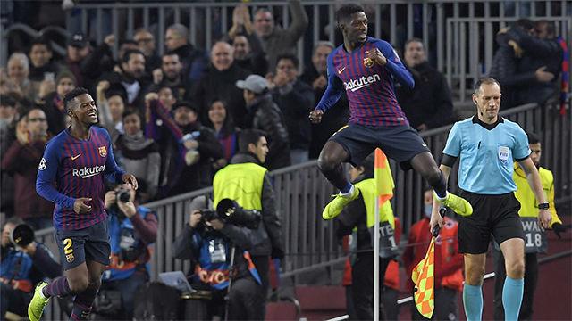 Llegó en hora para el gol, así narraron las radios el golazo de Dembélé