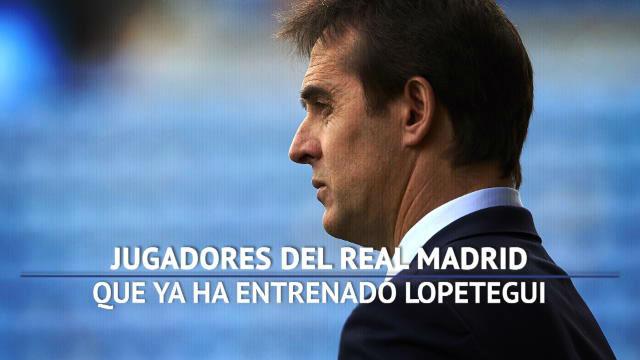 Los jugadores del Real Madrid que ya ha entranado Lopetegui