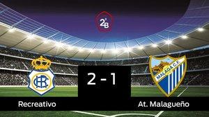 Los tres puntos se quedaron en casa: Recreativo 2-1 At. Malagueño