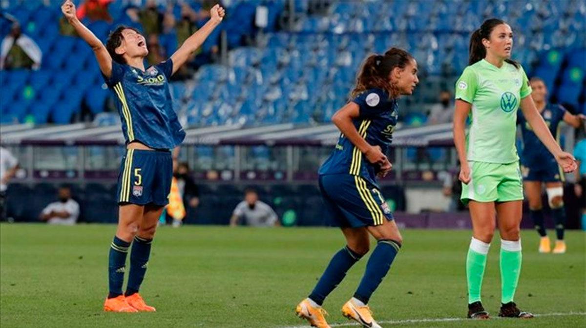 El Lyon levanta la quinta Champions consecutiva