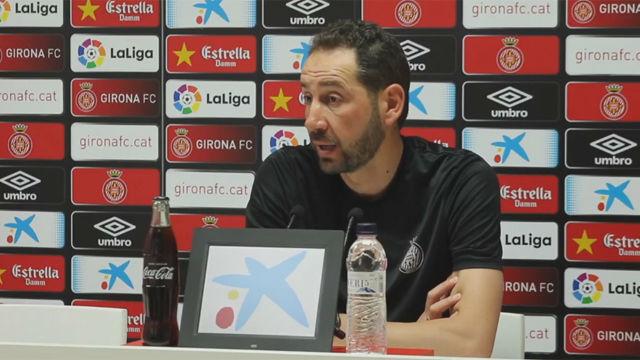 Machín valoró la temporada del Girona